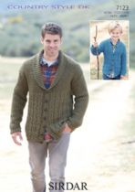 Sirdar Country Style DK - 7123 Cardigans Knitting Pattern